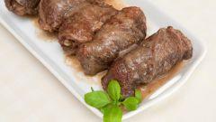 Крученики из свинины