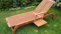 Как выбрать стильные лежаки для сада