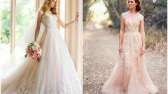 Свадебные платья: выбор цвета и символизм