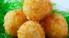 Сырно-картофельные шарики