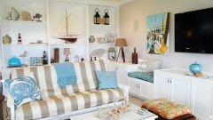 Как оформить квартиру в морском стиле