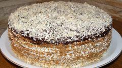 Вафельный торт с варёной сгущёнкой