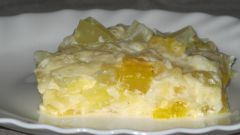 Тушеные кабачки с яйцом