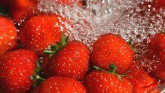 Правильная обработка клубники перед употреблением в пищу