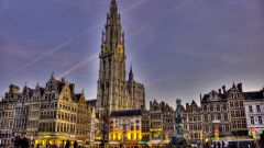 Путешествие по Бельгии - Антверпен
