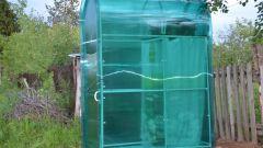 Как сделать летний душ из поликарбоната