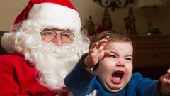 Почему ребенок боится Деда Мороза