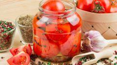 Маринованные помидоры с тмином