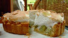 Как приготовить пирог с крыжовником в сливочном соусе