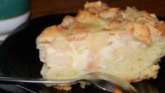 Как приготовить сметанный пирог с яблочной начинкой