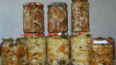 Как приготовить маринованные грибы в собственном соку