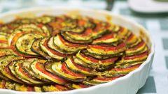 Как сделать французское блюдо рататуй