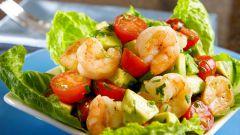 Как сделать салат из морепродуктов и дыни