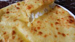 Сырно-картофельный осетинский пирог