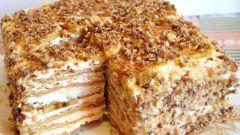 Торт из печенья и сливы