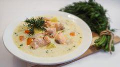 """Финский суп с лососем """"Лохикейто"""""""
