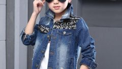 Джинсовая одежда для мальчика