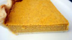 Пирог из тыквы со сгущенкой