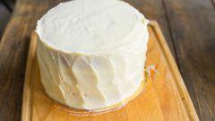 Как не испортить торт кремом?