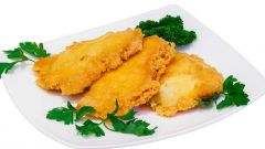 Куриное филе под сырно-хлебной корочкой