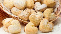 Как быстро приготовить хрустящее песочное печенье