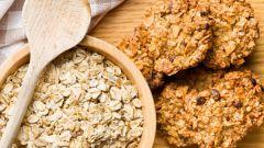 Как приготовить печенье из овсяных хлопьев в микроволновке