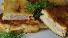 Как приготовить горячие бутерброды в панировке