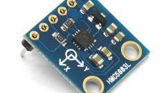 Как подключить цифровой компас HMC5883 к Arduino