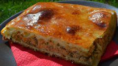 Как приготовить заливной пирог с сайрой