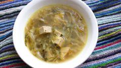 Рецепт супа «Янпечу миёккук» в корейском стиле