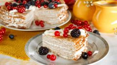 Как приготовить простой и вкусный блинный торт