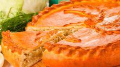 Как приготовить заливной пирог с капустой