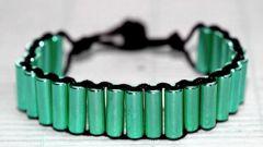 Простой способ сделать красивый браслет