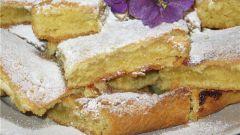 Как испечь вкусный пирог лимонник