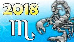 Какой гороскоп на 2018 год для знака Скорпион