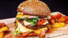 Как сделать бургер из говядины с печеными овощами