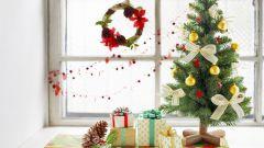 Как по-новогоднему украсить окна