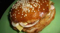 Как приготовить гамбургер-макмаффин как в Макдональдсе