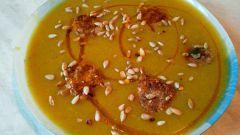 Как приготовить вкусный тыквенный суп-пюре