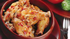 Как приготовить чахохбили с картошкой в духовке
