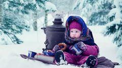 Правила безопасной прогулки с ребенком зимой