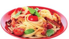 Как приготовить итальянский салат с макаронами?