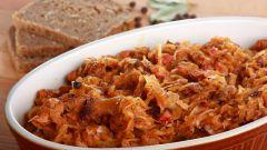 Как приготовить бигус из свежей капусты