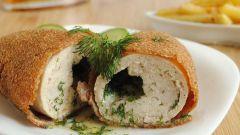 Как приготовить котлеты по-киевски из куриного филе