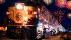Как отметить Новый год в поезде