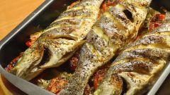 Как запечь сибаса в духовке