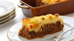 Как приготовить пастуший пирог с мясом и картошкой