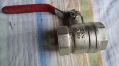 Устройство водопроводного шарового крана: элементы и принцип действия