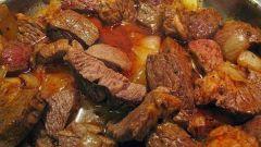 Как приготовить вкусный гуляш из говядины