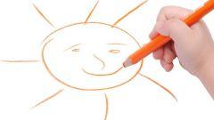 Как учить ребенка 3 - 4 лет рисовать карандашами